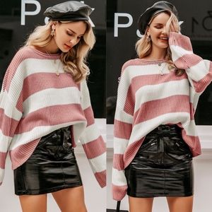 WILLOW Color Block Knit Sweater